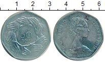 Изображение Монеты Европа Великобритания 50 пенсов 1973 Медно-никель UNC-