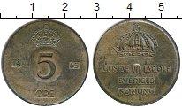 Изображение Монеты Европа Швеция 5 эре 1965 Бронза XF