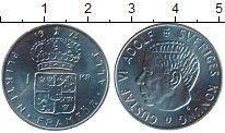 Изображение Монеты Европа Швеция 1 крона 1973 Медно-никель UNC-