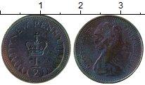 Изображение Монеты Европа Великобритания 1/2 пенни 1976 Бронза XF