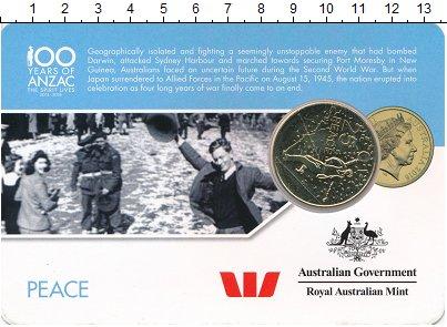 Изображение Монеты Австралия и Океания Австралия 25 центов 2016 Латунь UNC