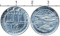 Изображение Монеты Европа Сан-Марино 2 лиры 1977 Алюминий UNC