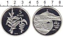 Изображение Монеты Южная Америка Бразилия 5 реалов 2015 Серебро Proof-