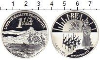 Изображение Монеты Европа Франция 1 1/2 евро 2005 Серебро Proof
