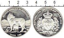 Изображение Монеты Европа Сан-Марино 10000 лир 1996 Серебро Proof-