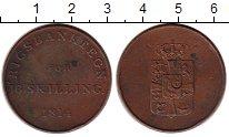 Изображение Монеты Дания 16 скиллингов 1814 Медь XF- Банковский токен