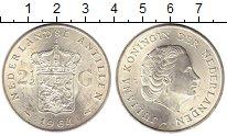 Изображение Монеты Нидерланды Антильские острова 2 1/2 гульдена 1964 Серебро UNC-