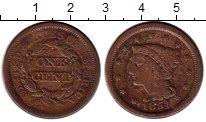 Изображение Монеты Северная Америка США 1 цент 1851 Медь VF+