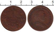 Изображение Монеты Европа Швеция 2/3 скиллинга 1837 Медь XF-