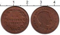 Изображение Монеты Баден 1 крейцер 1828 Медь VF Герцог Людвиг