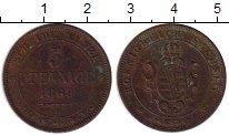 Изображение Монеты Саксония 5 пфеннигов 1869 Медь XF-