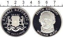Изображение Монеты Сомали 250 шиллингов 2004 Серебро Proof