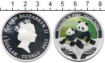 Изображение Монеты Тувалу 1 доллар 2011 Серебро Proof-