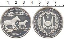 Изображение Монеты Джибути 100 франков 1994 Серебро UNC