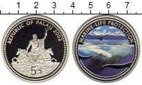 Изображение Монеты Палау 5 долларов 2002 Серебро UNC