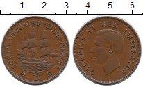 Изображение Монеты Африка ЮАР 1 пенни 1941 Бронза XF