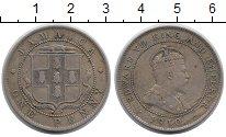 Изображение Монеты Ямайка 1 пенни 1910 Медно-никель XF-