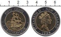 Изображение Монеты Австралия и Океания Новая Зеландия 50 центов 1994 Биметалл UNC-