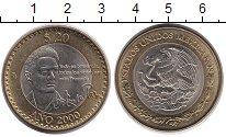 Изображение Монеты Мексика 20 песо 2000 Биметалл UNC