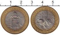 Изображение Монеты Ватикан 1000 лир 2000 Биметалл UNC