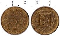 Изображение Монеты Финляндия 5 марок 1947 Латунь XF