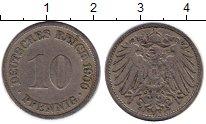 Изображение Монеты Европа Германия 10 пфеннигов 1900 Медно-никель VF