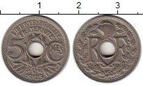Изображение Монеты Европа Франция 5 сантим 1923 Медно-никель XF