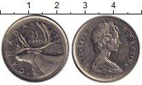 Изображение Монеты Северная Америка Канада 25 центов 1969 Медно-никель XF