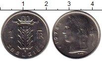 Изображение Монеты Европа Бельгия 1 франк 1978 Медно-никель UNC-