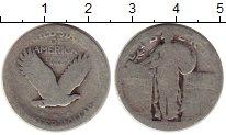 Изображение Монеты Северная Америка США 1/4 доллара 0 Серебро VF-