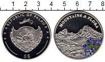 Изображение Монеты Палау 5 долларов 2009 Серебро Proof Горы и цветы, Монбла