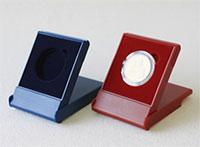 Изображение Аксессуары для монет Пластик Футляр пластиковый для одной монеты в капсуле Ø 44 мм 0