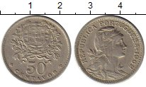 Изображение Монеты Европа Португалия 50 сентаво 1962 Медно-никель VF