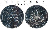 Изображение Монеты Северная Америка Барбадос 4 доллара 1970 Медно-никель UNC