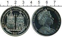 Изображение Монеты Виргинские острова 10 долларов 2006 Серебро UNC