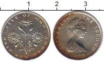 Изображение Монеты Великобритания Остров Мэн 1/2 пенни 1975 Серебро XF