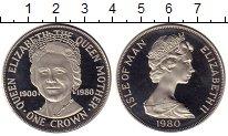 Изображение Монеты Остров Мэн 1 крона 1980 Медно-никель Proof-