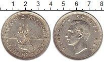 Изображение Монеты ЮАР 5 шиллингов 1952 Серебро XF-
