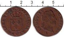 Изображение Монеты Европа Франция 1 соль 1772 Медь VF