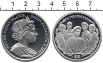 Изображение Монеты Виргинские острова 10 долларов 2002 Серебро Proof