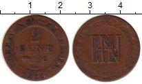 Изображение Монеты Вестфалия 2 сентима 1812 Медь VF