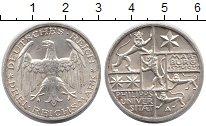 Изображение Монеты Веймарская республика 3 марки 1927 Серебро