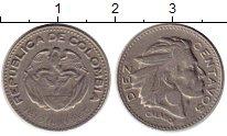 Изображение Монеты Колумбия 10 сентаво 1960 Медно-никель XF