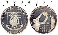Изображение Монеты Конго 500 франков 1992 Серебро Proof-