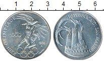 Изображение Монеты Европа Сан-Марино 1000 лир 1984 Серебро UNC-