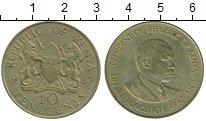 Изображение Монеты Кения 10 центов 1987 Латунь XF-