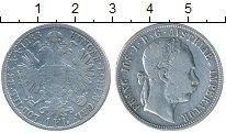 Изображение Монеты Австрия 1 флорин 1888 Серебро VF