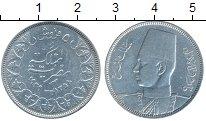 Изображение Монеты Египет 5 пиастров 1939 Серебро VF