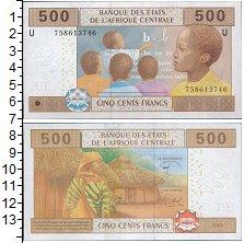 Изображение Банкноты Камерун 500 франков 2002  UNC
