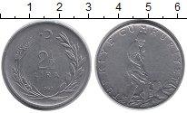 Изображение Монеты Турция 2 1/2 лиры 1962 Сталь XF